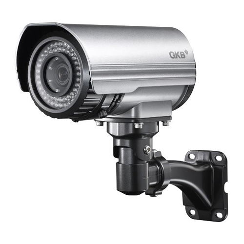 Camera supraveghere exterior IP GKB HD2731, 2 MP, IR 100 m, 3.3 - 12 mm