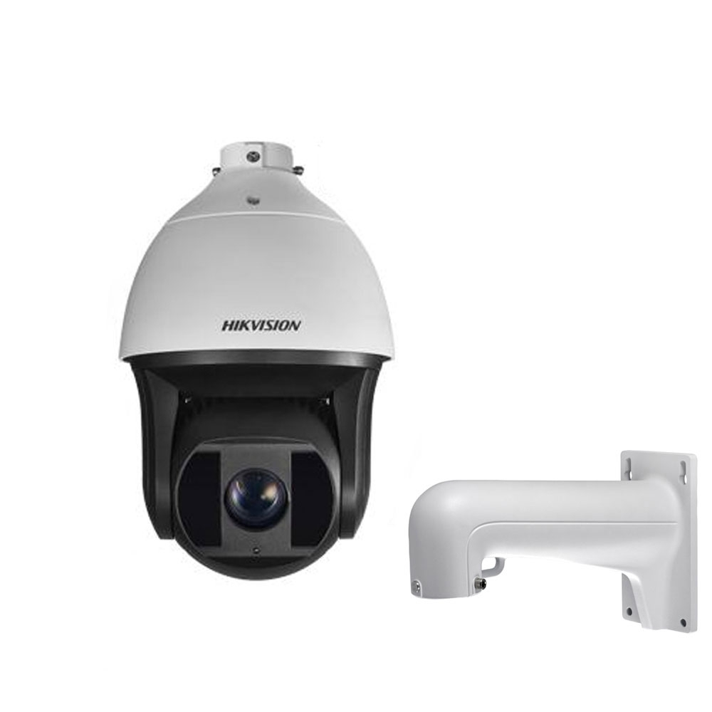 Camera supraveghere Speed Dome IP Hikvision DS-2DF8223I-AEL, 2 MP, IR 200 m, 5.9-135.7 mm, 23x + suport