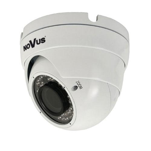 Camera supraveghere Dome IP Novus NVIP-2DN3001V/IR-1P, 2 MP, IR 20 m, 2.8 - 12 mm