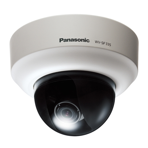Camera supraveghere Dome IP Panasonic WV-SF335, 1.3 MP, 2.8 - 10 mm