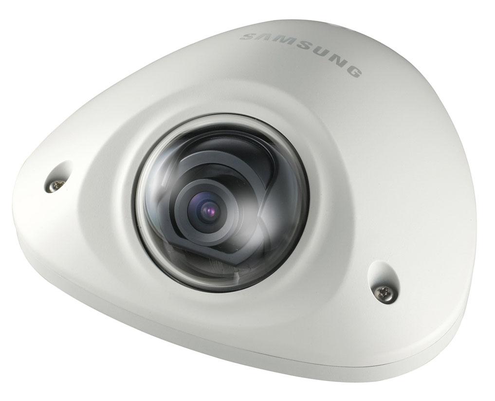 Camera supraveghere Dome IP Samsung SNV-5010, 1.3 MP, IP66, 3 mm imagine spy-shop.ro 2021