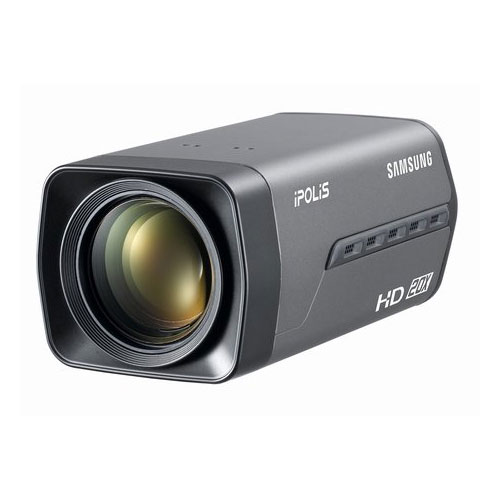 Camera supraveghere interior IP Samsung SNZ-5200, 3 MP, 4.45 - 89 mm