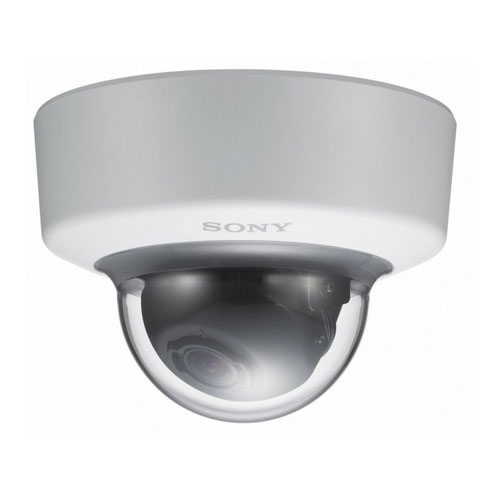 Camera supraveghere Dome IP Sony SNC-EM600, 1.3 MP, 3-8 mm