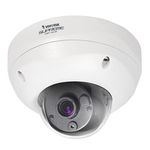 Camera supraveghere Dome IP Vivotek FD8362E, 2 MP, IP66, IK10, 3 - 9 mm