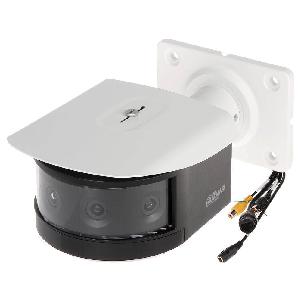 Camera supraveghere IP multisenzor exterior Dahua IPC-PFW8802-A180-H-E4-AC24V, 4x2MP, IR 30 m, 5 mm, PoE