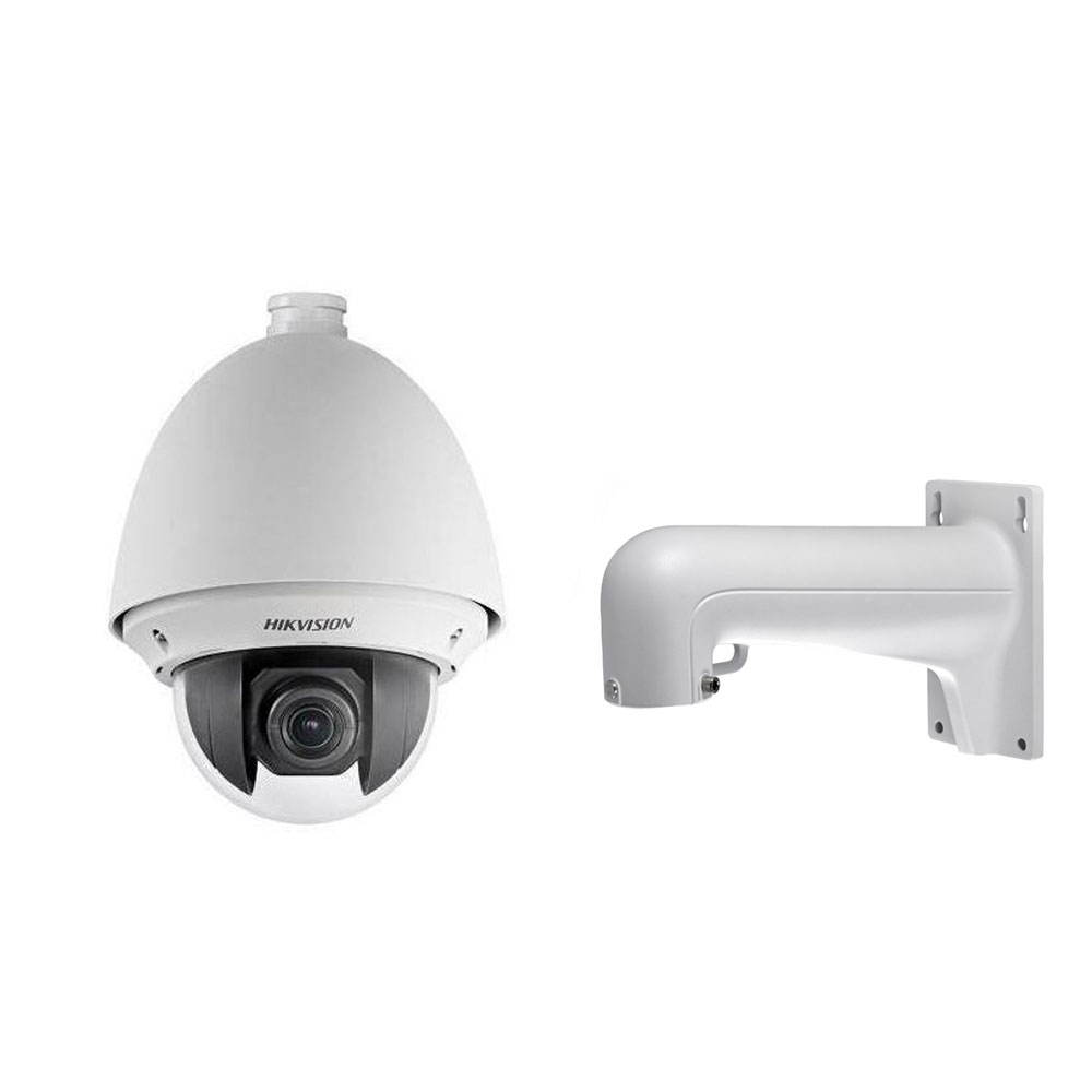 Camera supraveghere Speed Dome IP Hikvision DS-2DE4220W-AE, 2 MP, 4.7 - 94 mm, 20x + suport