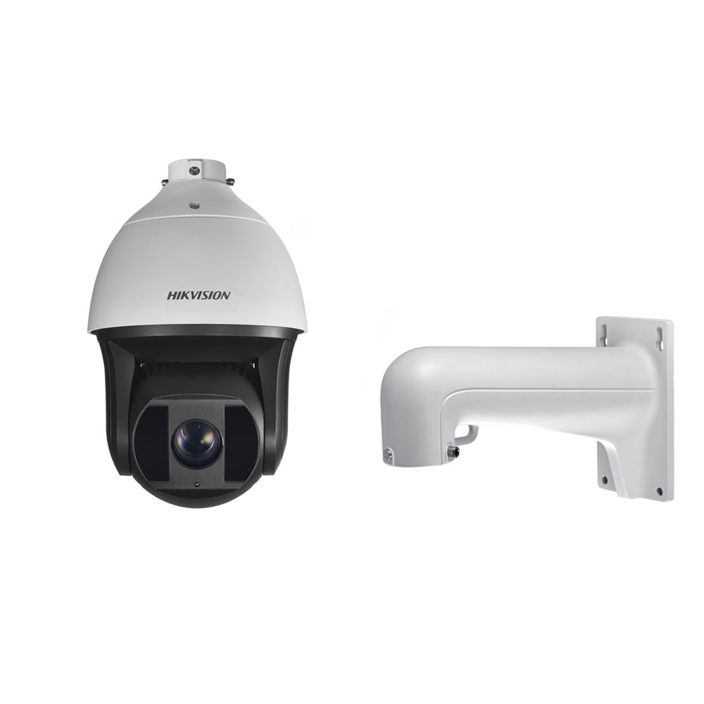Camera supraveghere Speed Dome IP Hikvision DS-2DF8236I-AEL, 2 MP, IR 200 m, 5.7-205.2 mm, 36x + suport