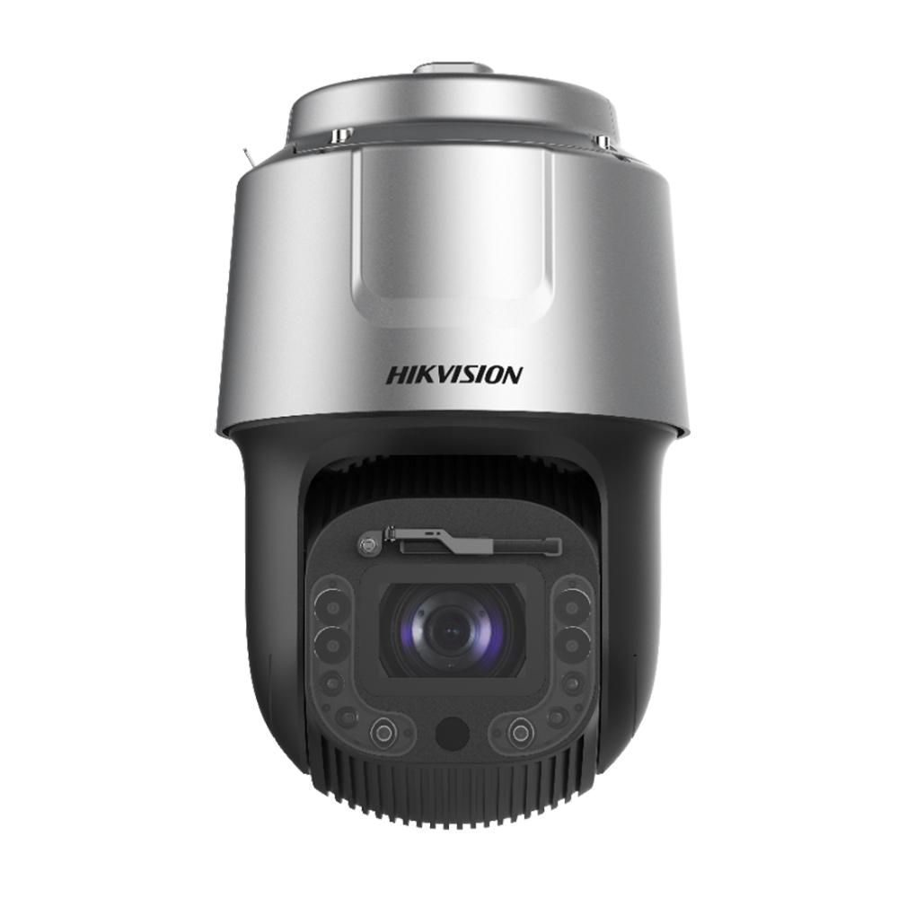 Camera supraveghere IP Speed Dome LPR PTZ Hikvision DarkFighter DS-2DF8C260I5XS-AELW(T2), 2 MP, laser 500 m, 6 - 360 mm, motorizat, 60x, detectie faciala/oameni/vehicule de la HikVision