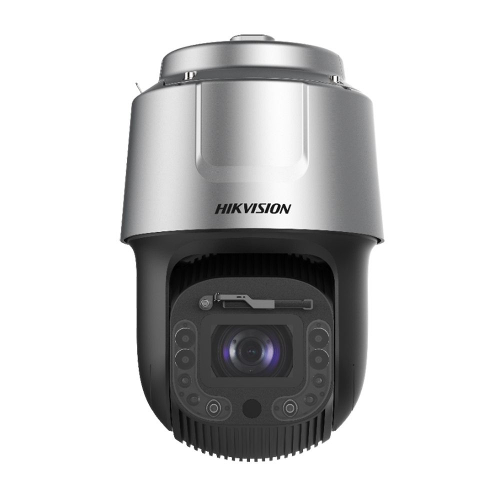 Camera supraveghere IP Speed Dome LPR PTZ Hikvision DarkFighter DS-2DF8C448I5XS-AELW(T2), 4 MP, laser 500 m, 6 - 288 mm, motorizat, 48x, detectie faciala/oameni/vehicule de la HikVision