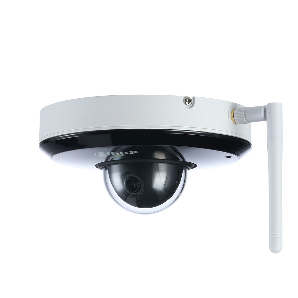 Camera supraveghere IP Dome wireless PTZ Dahua SD1A203T-GN-W, 2 MP, IR 15 m, 2.7-8.1 mm, microfon imagine spy-shop.ro 2021
