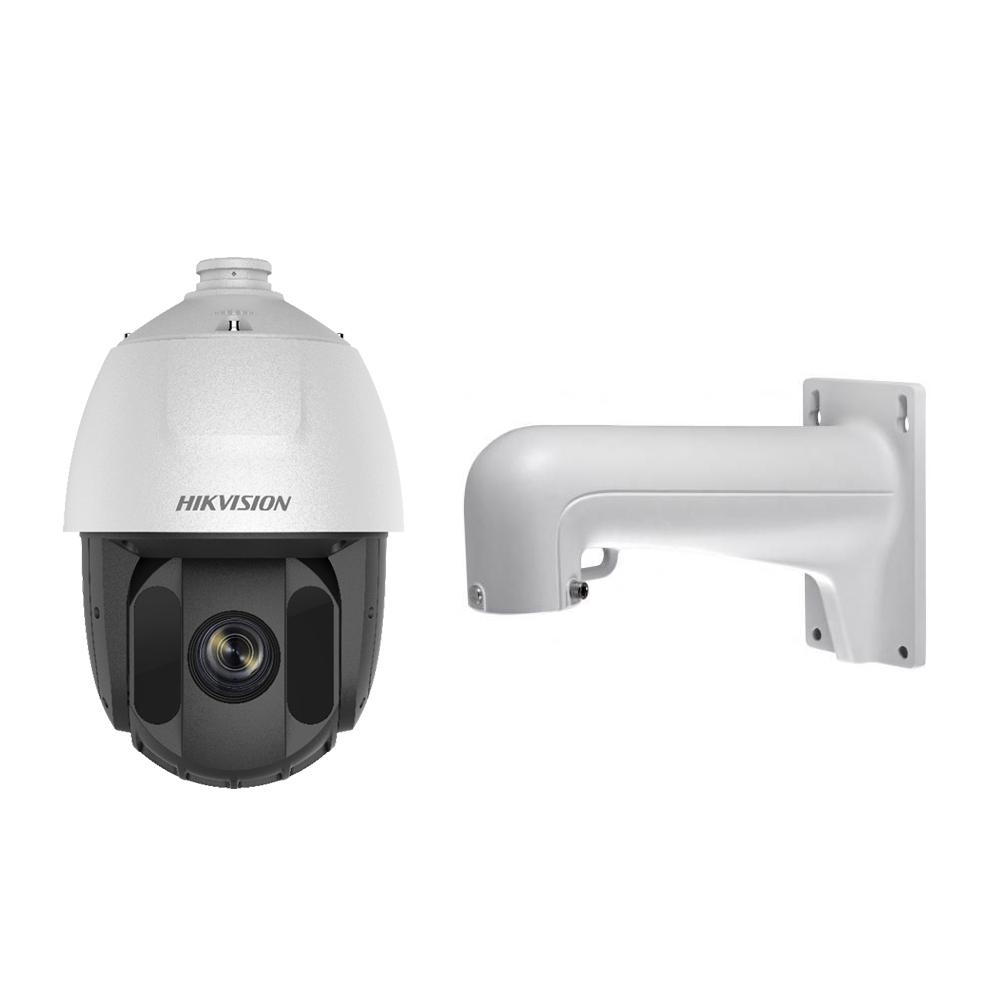 Camera supraveghere IP Speed Dome PTZ Hikvision DarkFighter DS-2DE5232IW-AE(S5), 2MP, IR 150 m, 4.8 - 153 mm, motorizat, 32x, slot card