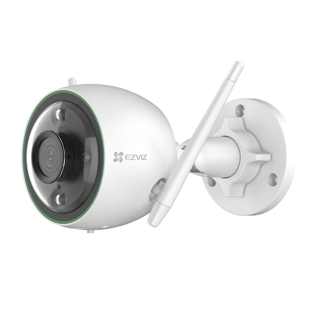 Camera supraveghere IP WiFi EZVIZ CS-C3N-A0-3H2WFRL, 2 MP, 2.8 mm, IR 30 m, slot card, microfon imagine spy-shop.ro 2021