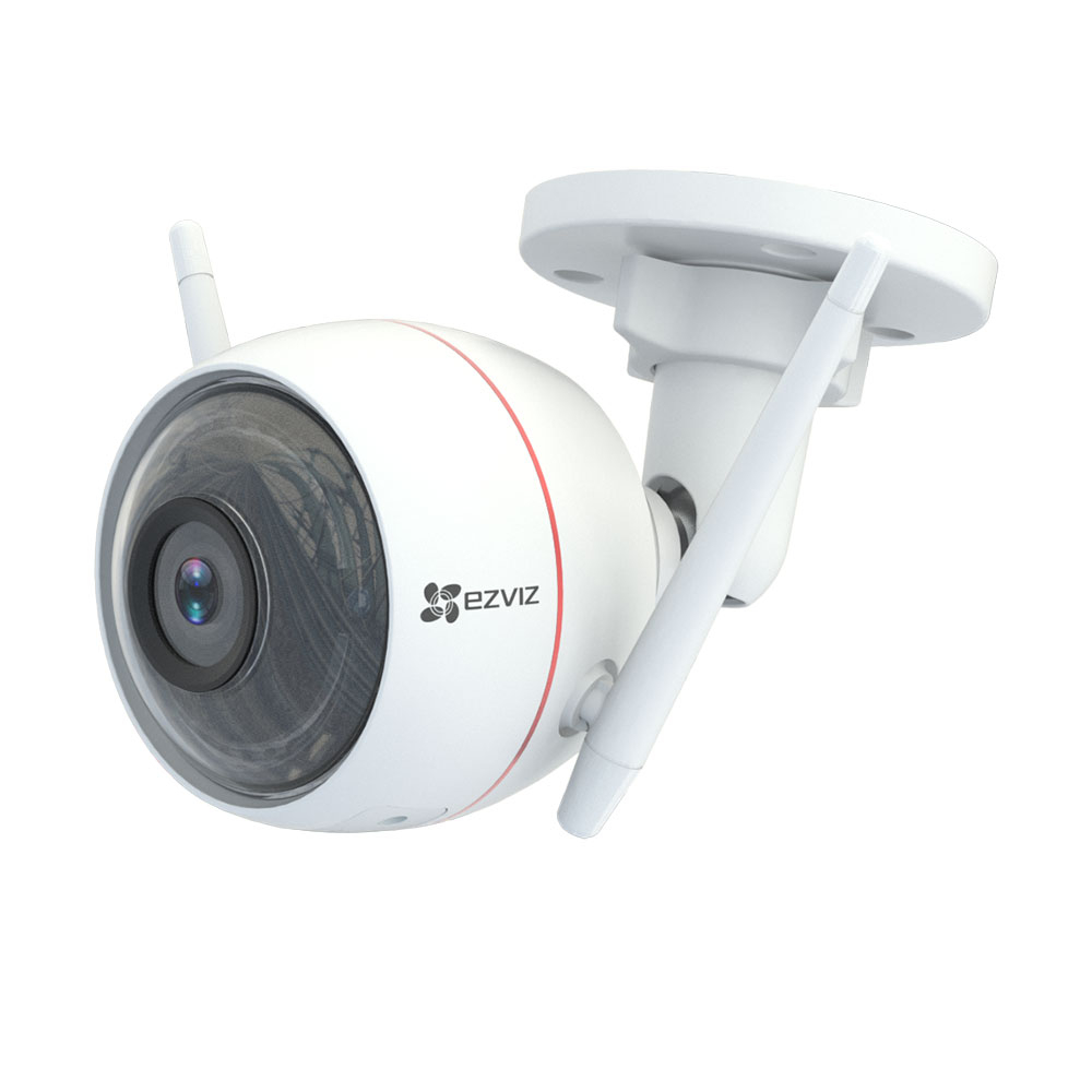 Camera supraveghere IP WiFi EZVIZ CS-CV310-A0-1B2WFR, 2 MP, IR 30 m, 2.8 mm, slot card, microfon imagine spy-shop.ro 2021