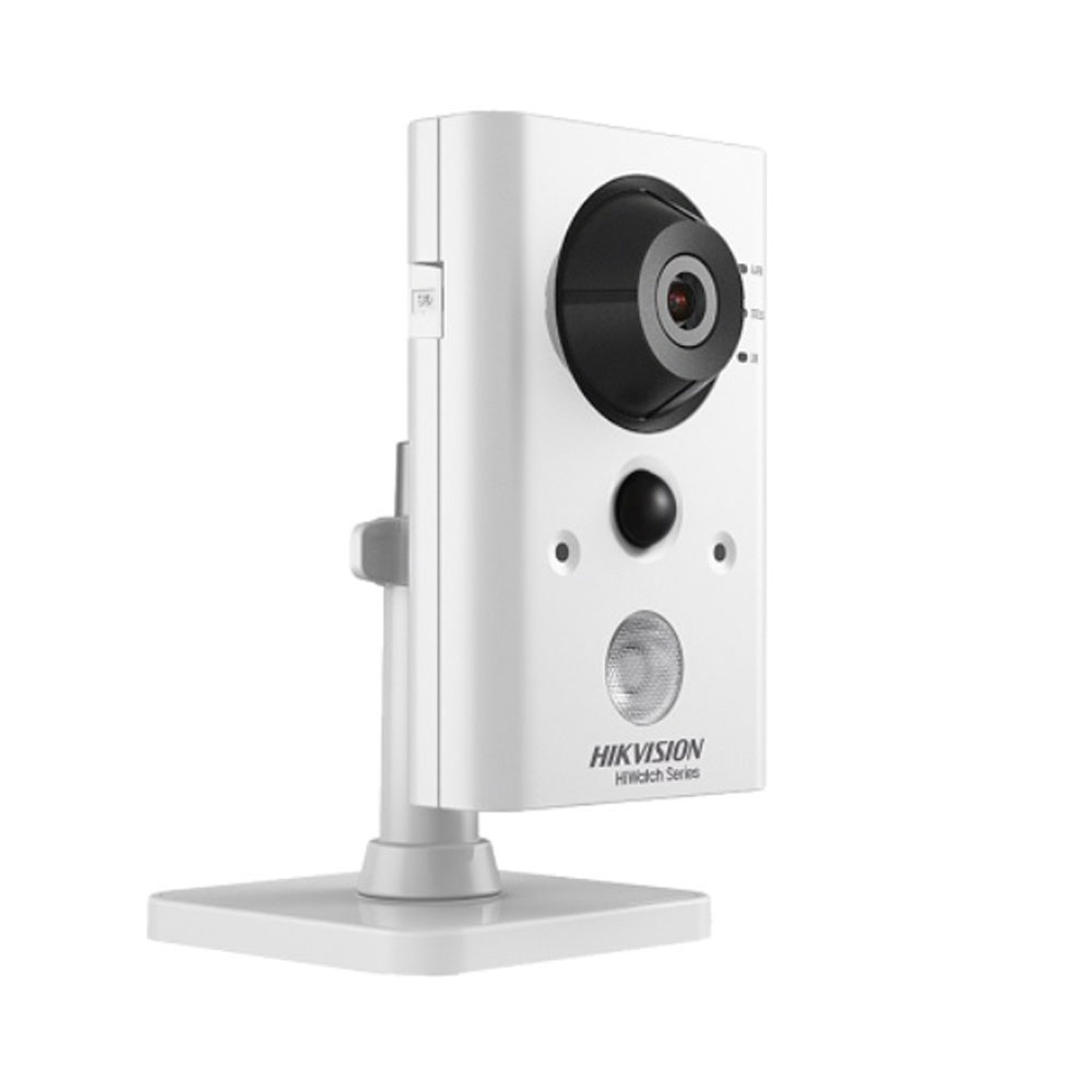 Camera supraveghere IP WiFi Hikvision HiWatch HWC-C200-D/W, 1 MP, 2.8 mm, IR 10 m, PIR 10 m imagine spy-shop.ro 2021