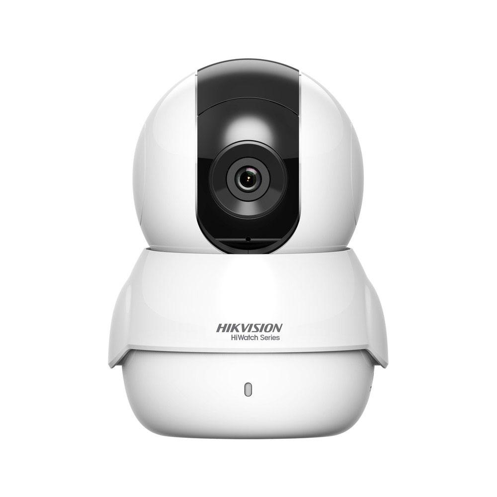 Camera supraveghere IP WiFi Hikvision HiWatch HWC-P120-D/W, 2 MP, IR 5 m, 2.8 mm, slot card, microfon