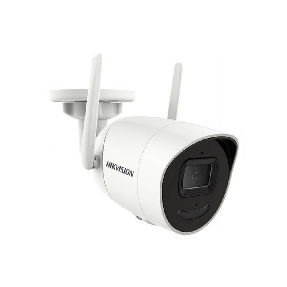 Camera supraveghere IP wireless Hikvision DS-2CV2046G0-IDW, 4 MP, IR 30 m, 2.8 mm, microfon imagine spy-shop.ro 2021
