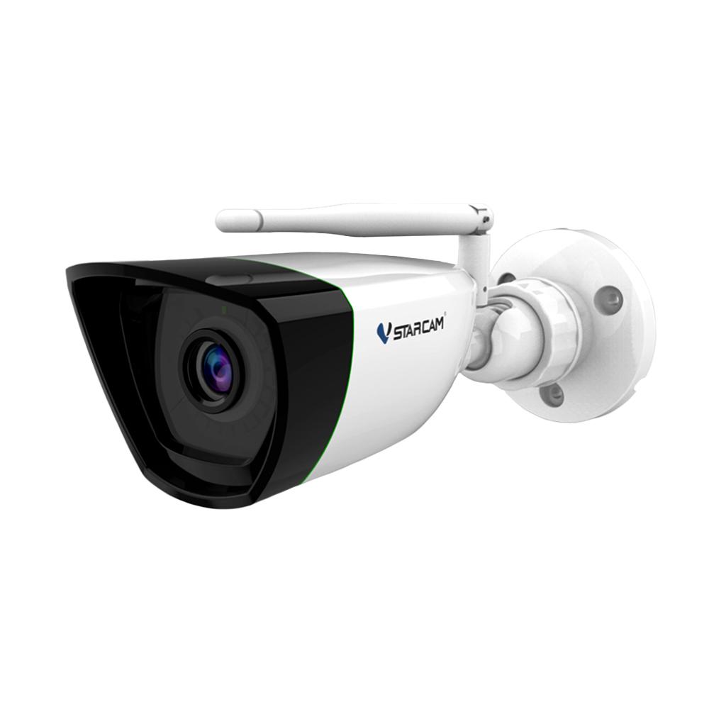 Camera supraveghere IP wireless Vstarcam CS55, 2 MP, IR 15 m, 4 mm, slot card, microfon, detectie miscare, detectie planset
