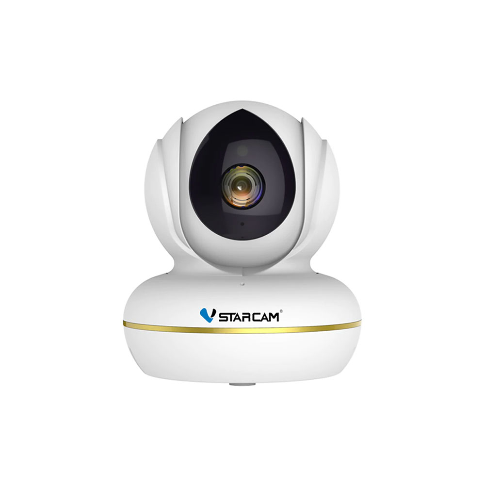 Webcam Full HD IP wireless Vstarcam CU2, 2 MP, 4 mm, IR 10 m, plug and play, USB, slot card, microfon imagine spy-shop.ro 2021