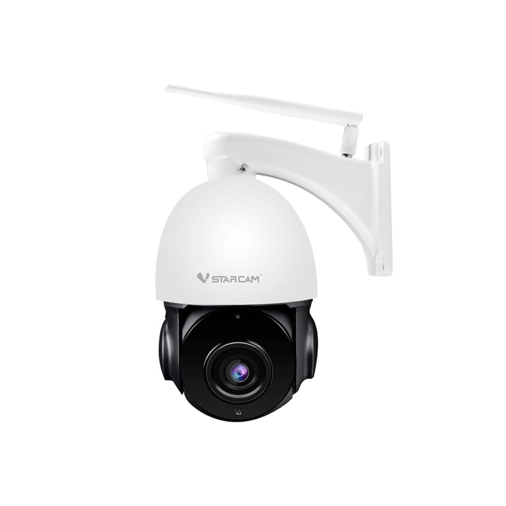 Camera supraveghere PTZ IP WiFi Vstarcam CS66Q-X18, 4 MP, IR 25 m, 5.9 - 94.4 mm, 18x, slot card, microfon, detectie miscare, tracking