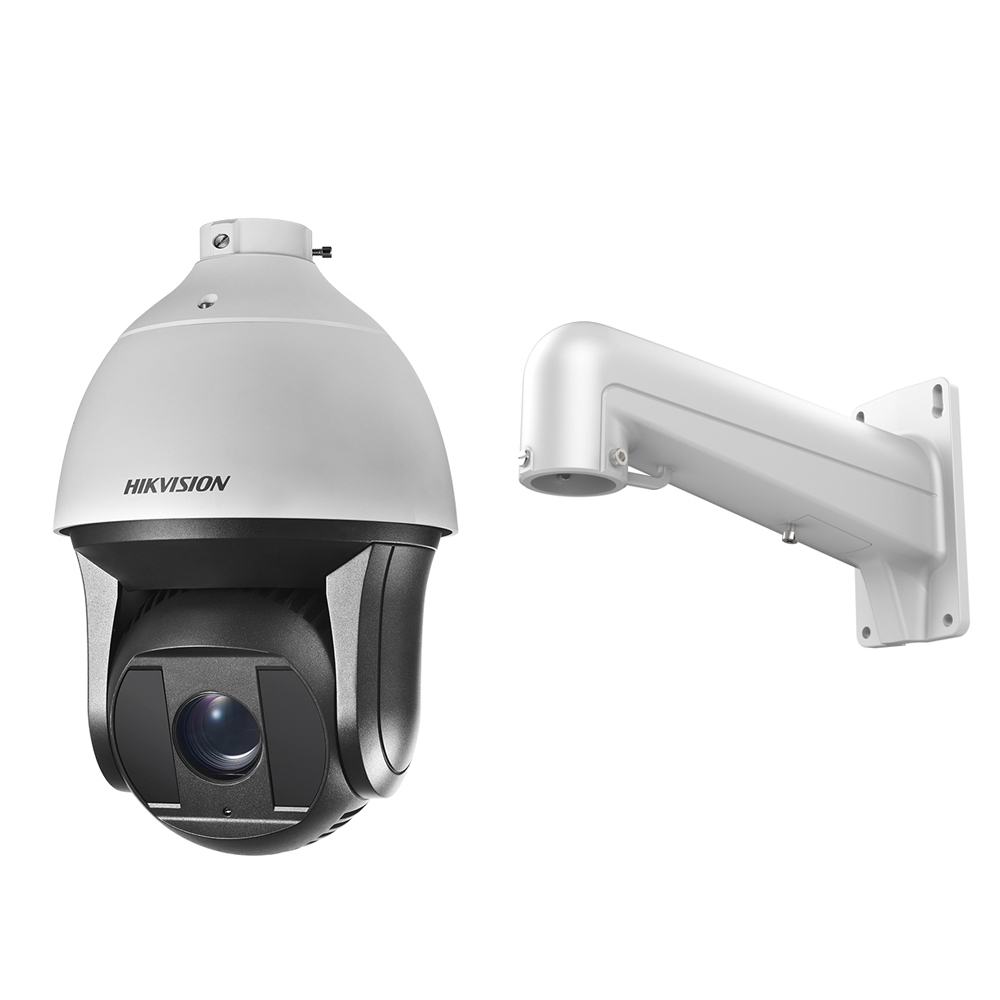 Camera supraveghere PTZ Speed Dome IP Hikvision DarkFighter DS-2DF8225IX-AEL B, 2 MP, IR 200 m, 5.7 - 142.5 mm, motorizat, 25x
