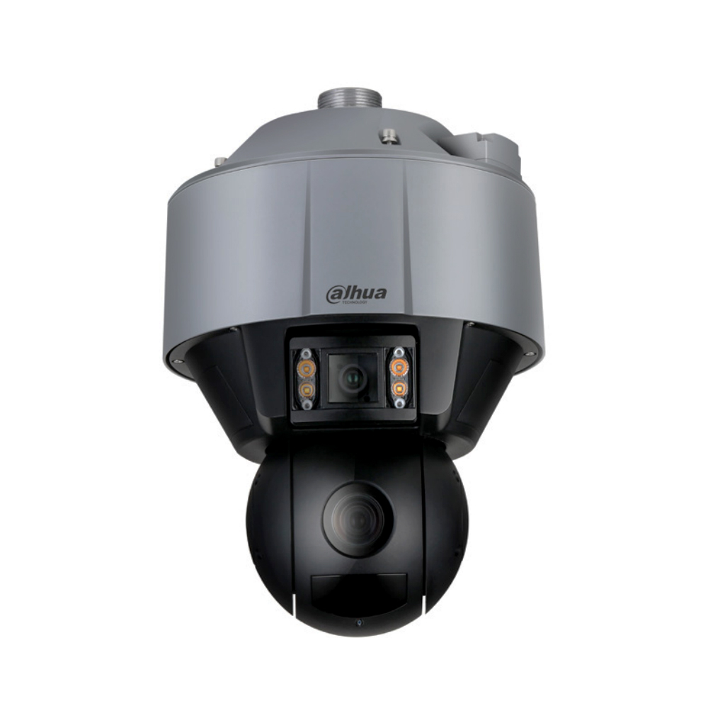 Camera supraveghere Speed Dome Dual-PTZ Dahua Starlight WizMind SDT5X405WA-HNF, 4MP, IR 100 m, 10-50 mm, panoramic, 5x zoom optic imagine spy-shop.ro 2021