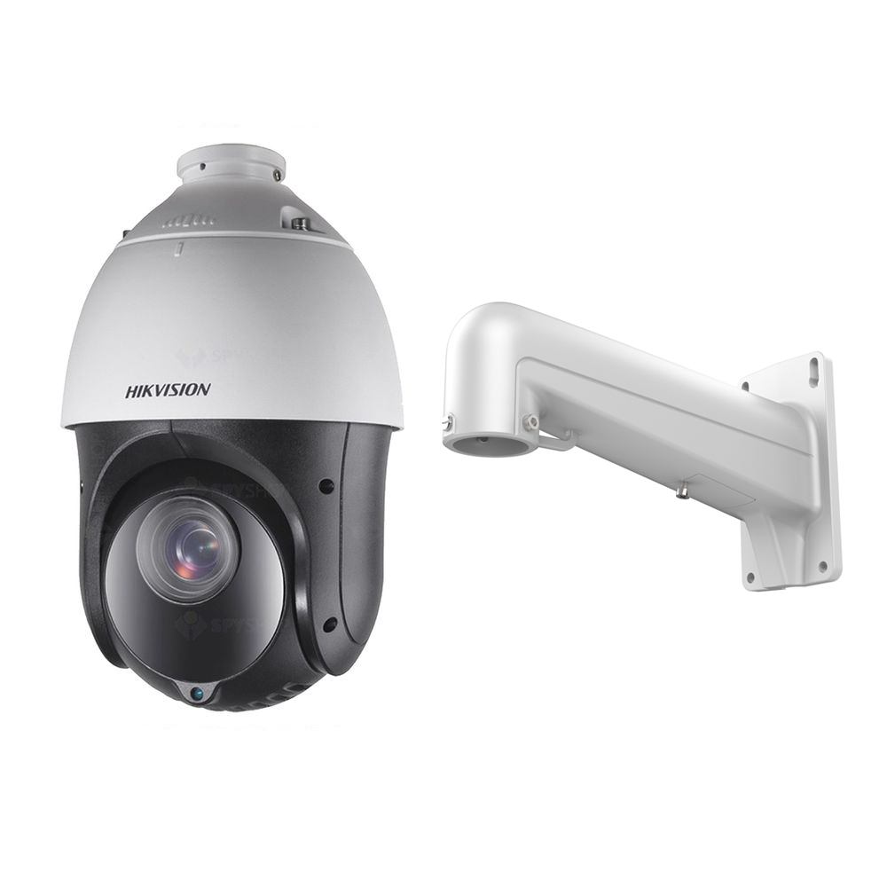 Camera supraveghere Speed Dome Hikvision TurboHD DS-2AE4225TI-D, 2 MP, IR 100 m, 4.8 - 120 mm, 25x + Suport