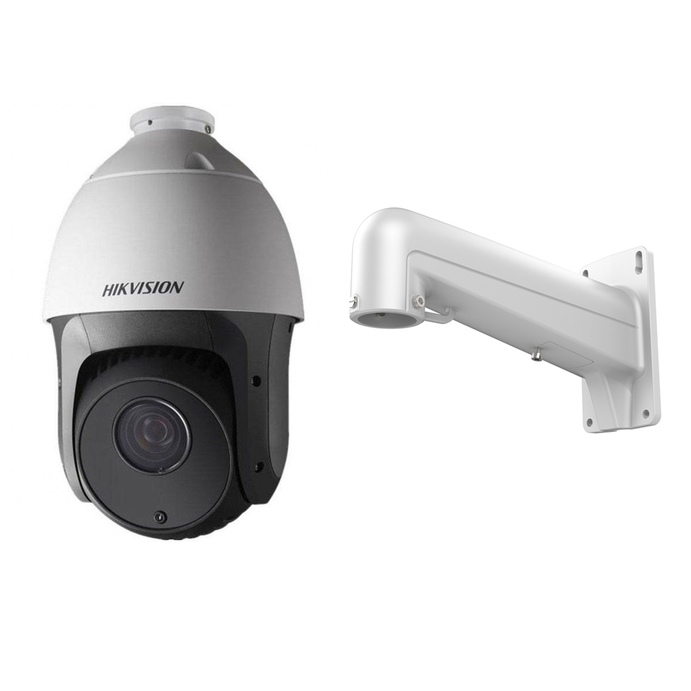 Camera supraveghere Speed Dome Hikvision TurboHD DS-2AE5123TI-A, 1 MP, IR 150 m, 4 - 92 mm, 23x + Suport