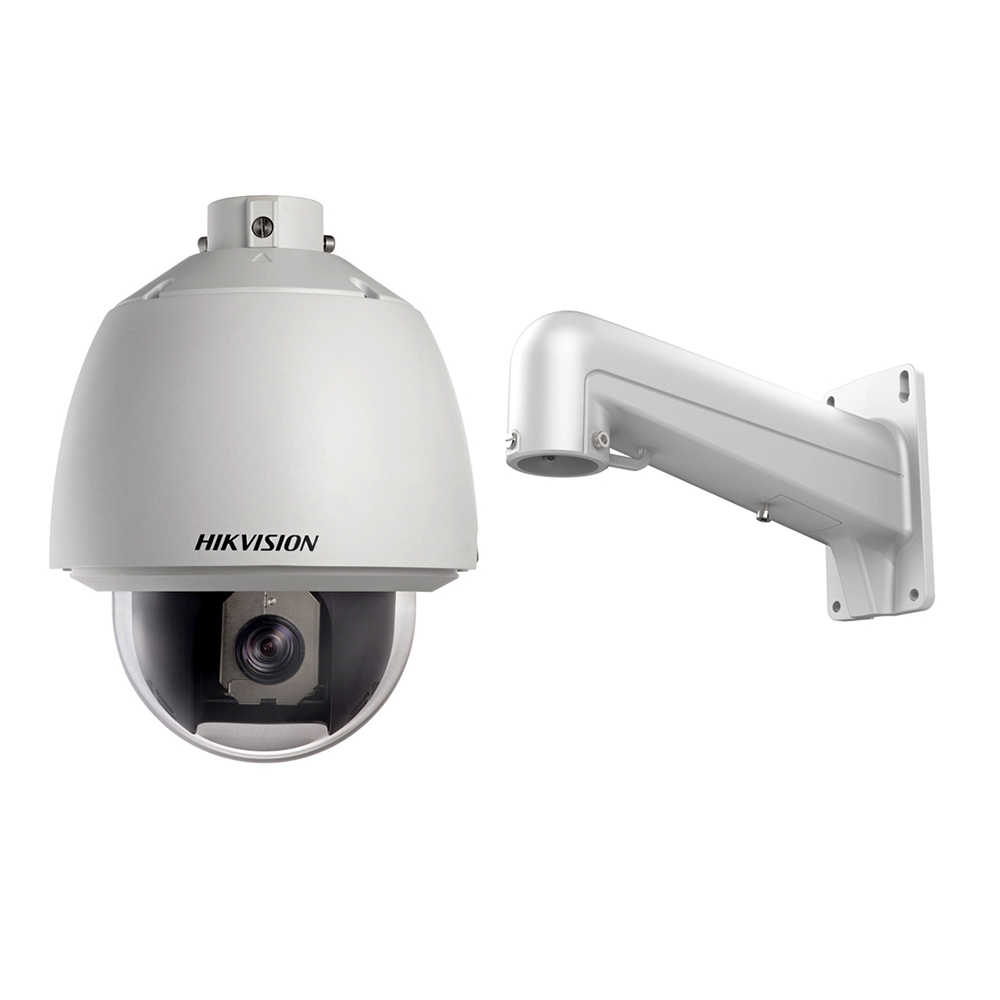 Camera supraveghere Speed Dome Hikvision TurboHD DS-2AE5230T-A, 2 MP, 4 - 120 mm, 18x + Suport imagine spy-shop.ro 2021
