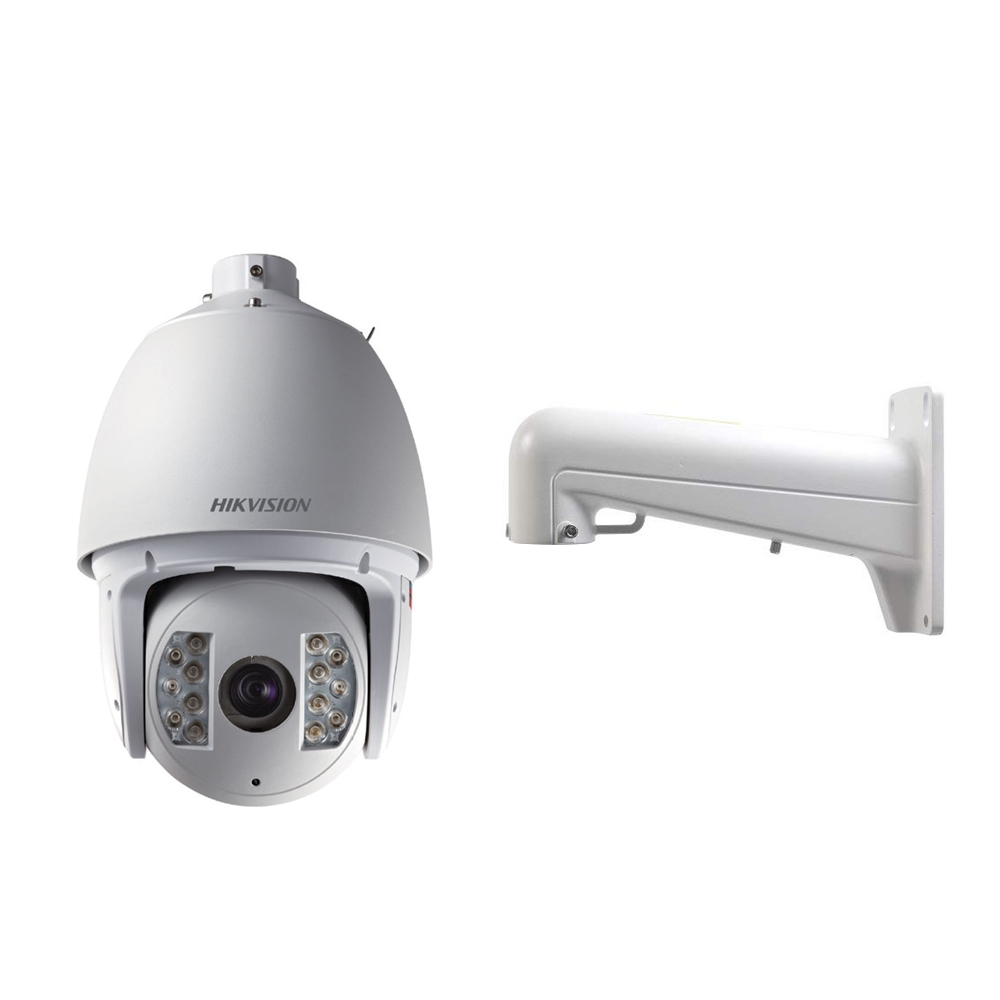 Camera supraveghere Speed Dome IP Hikvision DS-2DF7284-A, 2 MP, IR 150 m, 4.7-94 mm, 20x + suport imagine