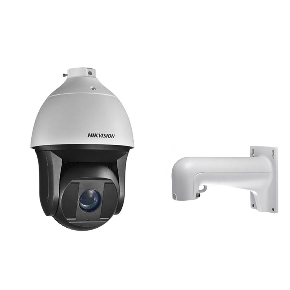 Camera supraveghere Speed Dome IP Hikvision DS-2DF8236IX-AEL, 2 MP, IR 200 m, 2.8 - 12 mm, 36x + suport imagine