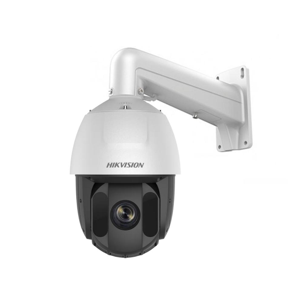 Camera supraveghere IP Speed Dome PTZ Hikvision DarkFighter AcuSense DS-2DE5432IW-AE S5, 4 MP, slot card, IR 150 m, 4.8 - 153 mm, motorizat, 32x
