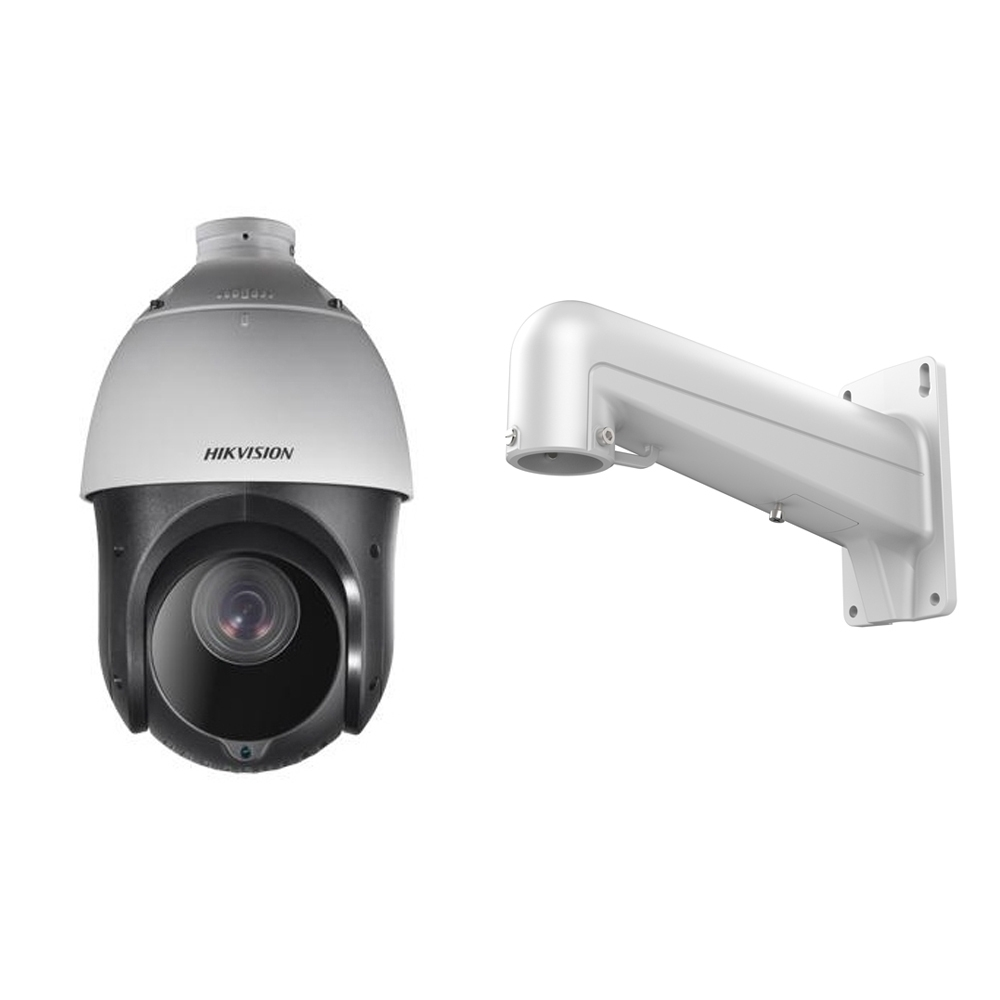 Camera supraveghere Speed Dome Hikvision TurboHD DS-2AE4225TI-A, 2 MP, IR 100 m, 4.8 - 120.0 mm, 25x + Suport