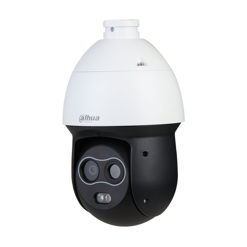 Camera supraveghere termica IP Dahua PTZ TPC-SD2221-B7F8, 2 MP, 8 mm, IR 50 m, detectie incendiu, functii smart, slot card imagine