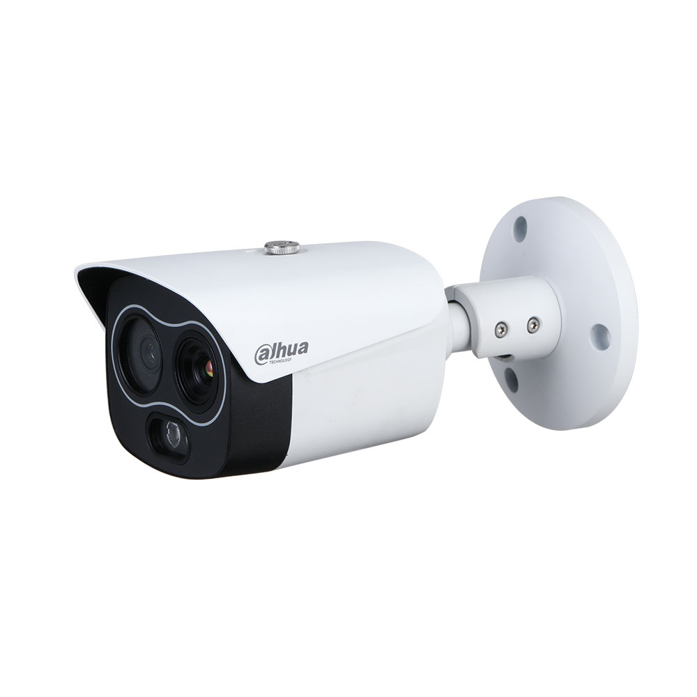Camera supraveghere termica IP Dahua WizSense TPC-BF1241-D3F4, 4 MP, 4 mm, IR 30 m, detectie incendiu, functii smart, slot card imagine