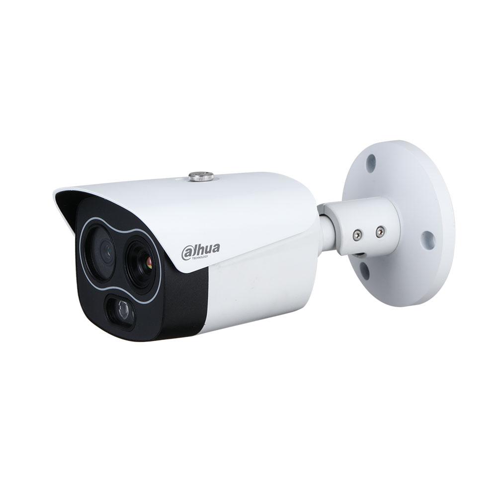 Camera supraveghere termica IP Dahua WizSense TPC-BF1241-D3F4, 4 MP, 4 mm, IR 30 m, detectie incendiu, functii smart, slot card imagine spy-shop.ro 2021