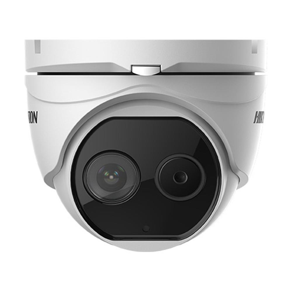Camera supraveghere termica IP de exterior Hikvision DeepinView DS-2TD1217-2/V1, 2MP, 15 m, functii smart imagine spy-shop.ro 2021