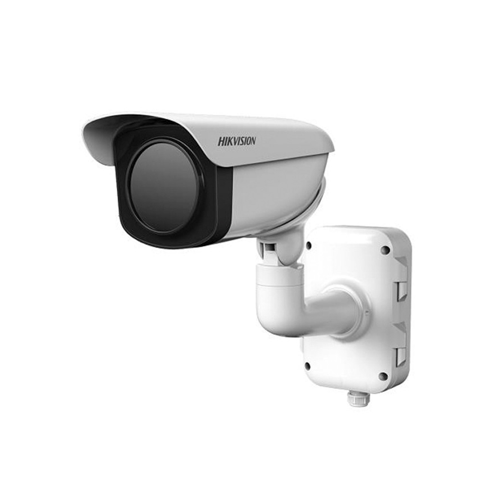 Camera supraveghere termica IP de exterior Hikvision DeepinView DS-2TD2336-50, detectie incendiu, masurare temperatura, 50 mm imagine
