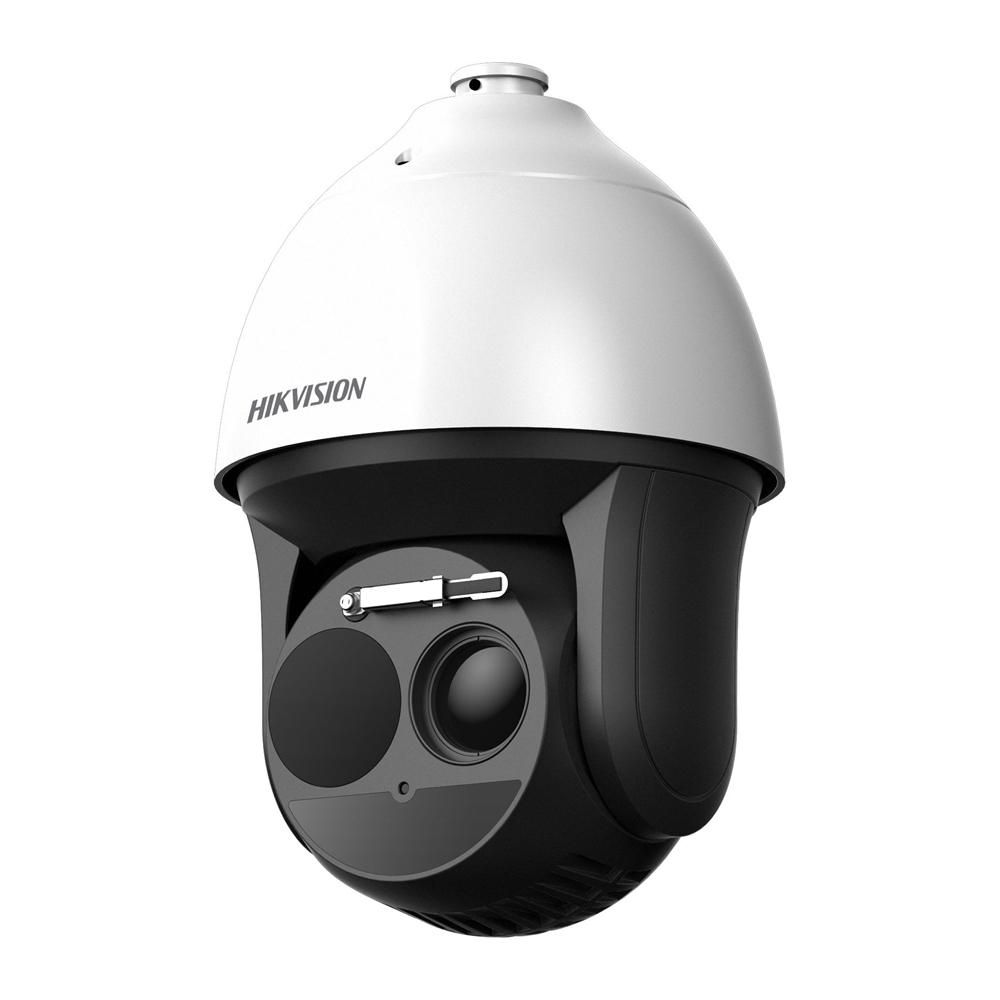 Camera supraveghere termica IP de exterior Hikvision DeepinView DS-2TD4136-50/V2, 2 MP, 200 m, detectie incendiu/temperatura imagine spy-shop.ro 2021