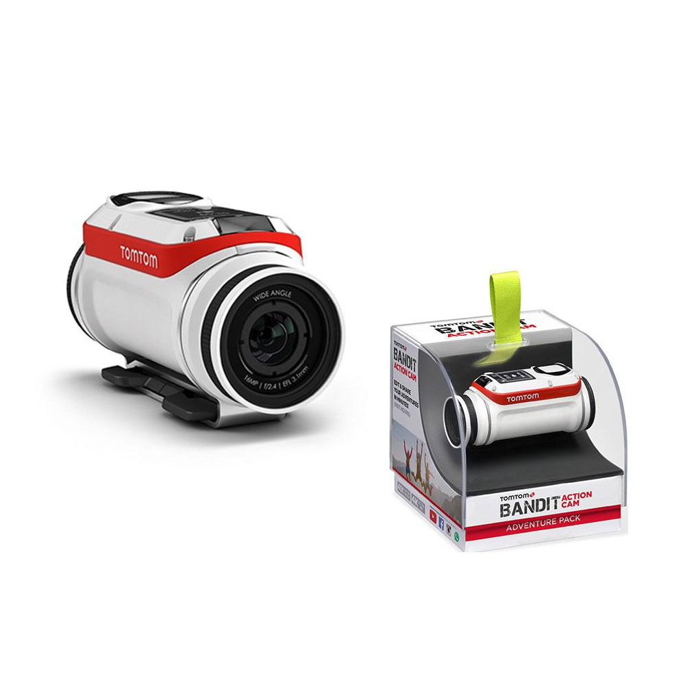 Camera video pentru sportivi TomTom Bandit Adventure Pack TomTomPBAD, 4k, WiFi imagine spy-shop.ro 2021