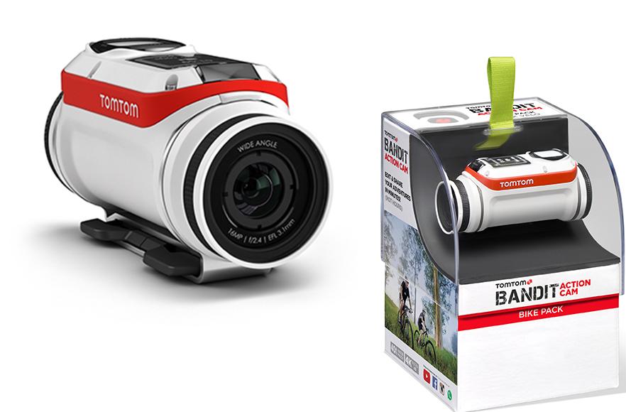 Camera pentru sportivi TomTom Bandit Bike Pack, 16 MP, WiFi imagine spy-shop.ro 2021
