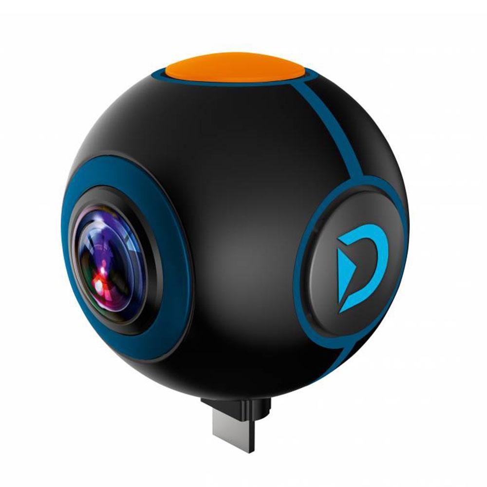 Camera video pentru sportivi Discovery Adventures 8785108, 2 MP, 360 grade, streaming