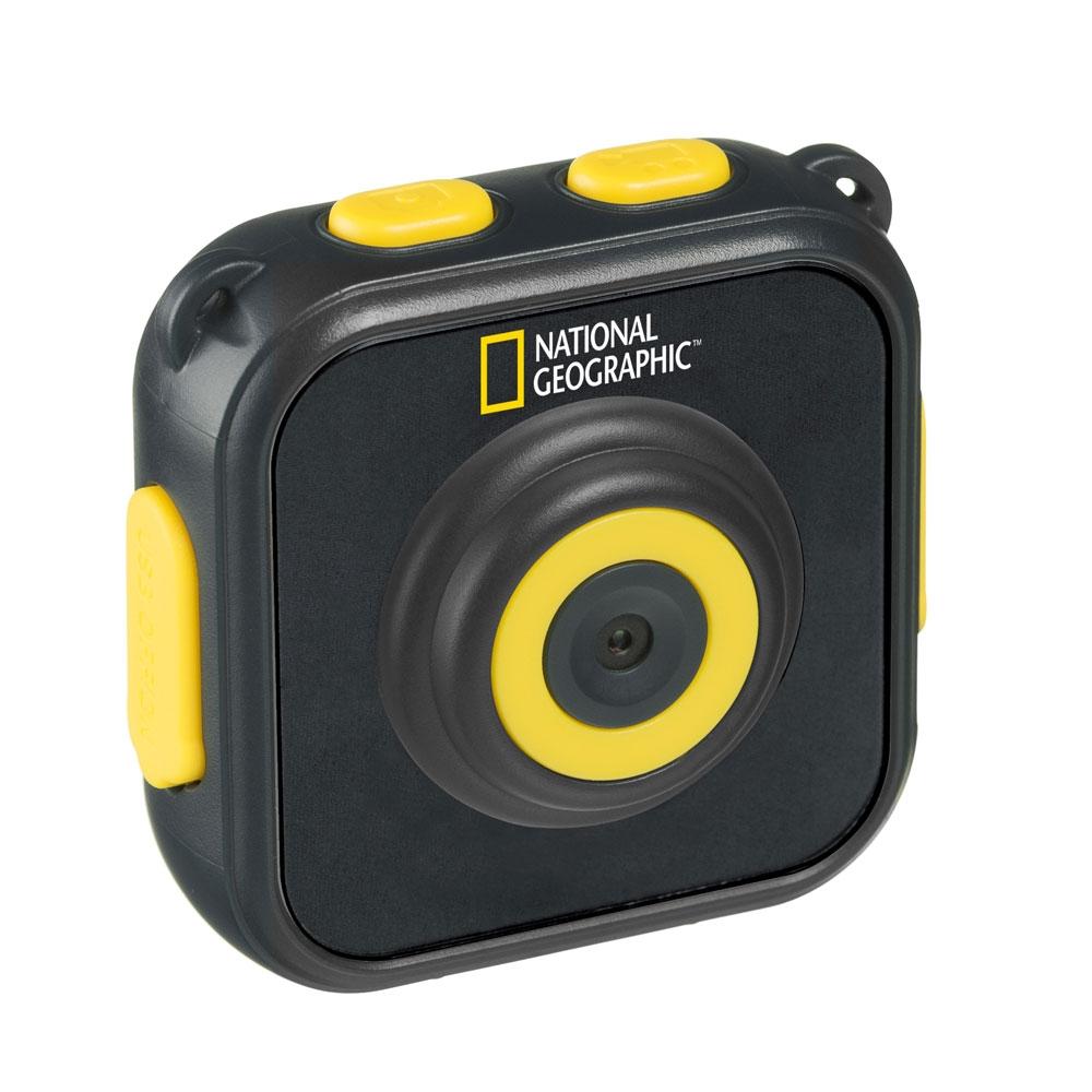 Camera video pentru sportivi National Geographic 9683200, HD, 1.5 inch, 80 grade imagine spy-shop.ro 2021