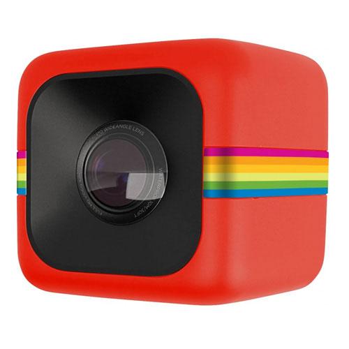 Camera video pentru sportivi Polaroid POLC3R, rosu imagine spy-shop.ro 2021