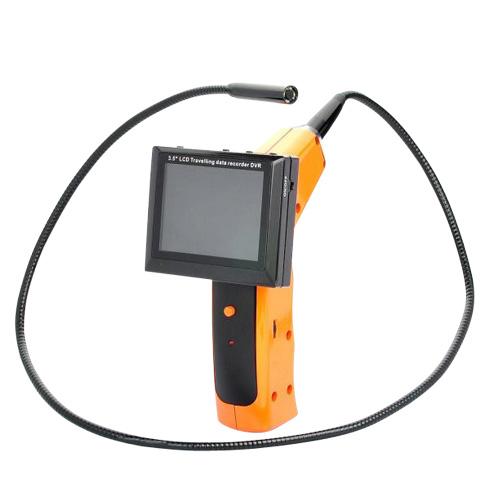 """Camera wireless flexibila tip """"""""sarpe"""""""" cu DVR si ecran LCD, 1 m, 15 m transmisie, 11 mm imagine spy-shop.ro 2021"""