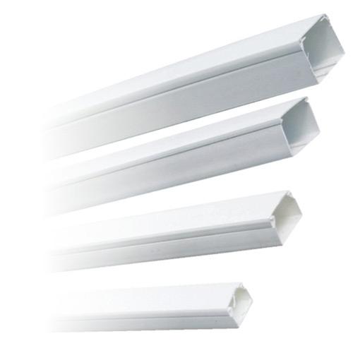 Canal cablu Comtec (jgheab) 25 x 25 mm, cu capac, 2 m, alb, PVC ignifugat imagine spy-shop.ro 2021
