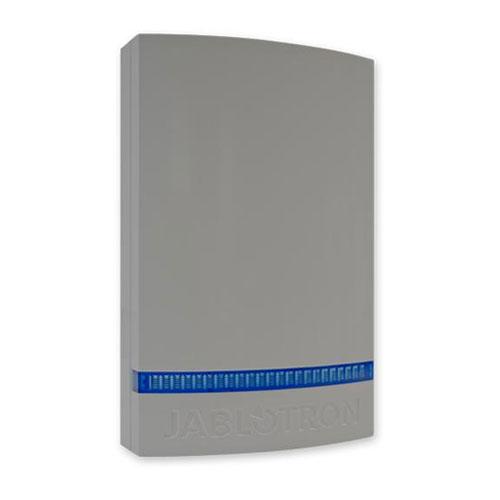 Capac gri cu strob albastru pentru sirena JABLOTRON 100 JA-1X1A-C-GR-B, plastic imagine spy-shop.ro 2021