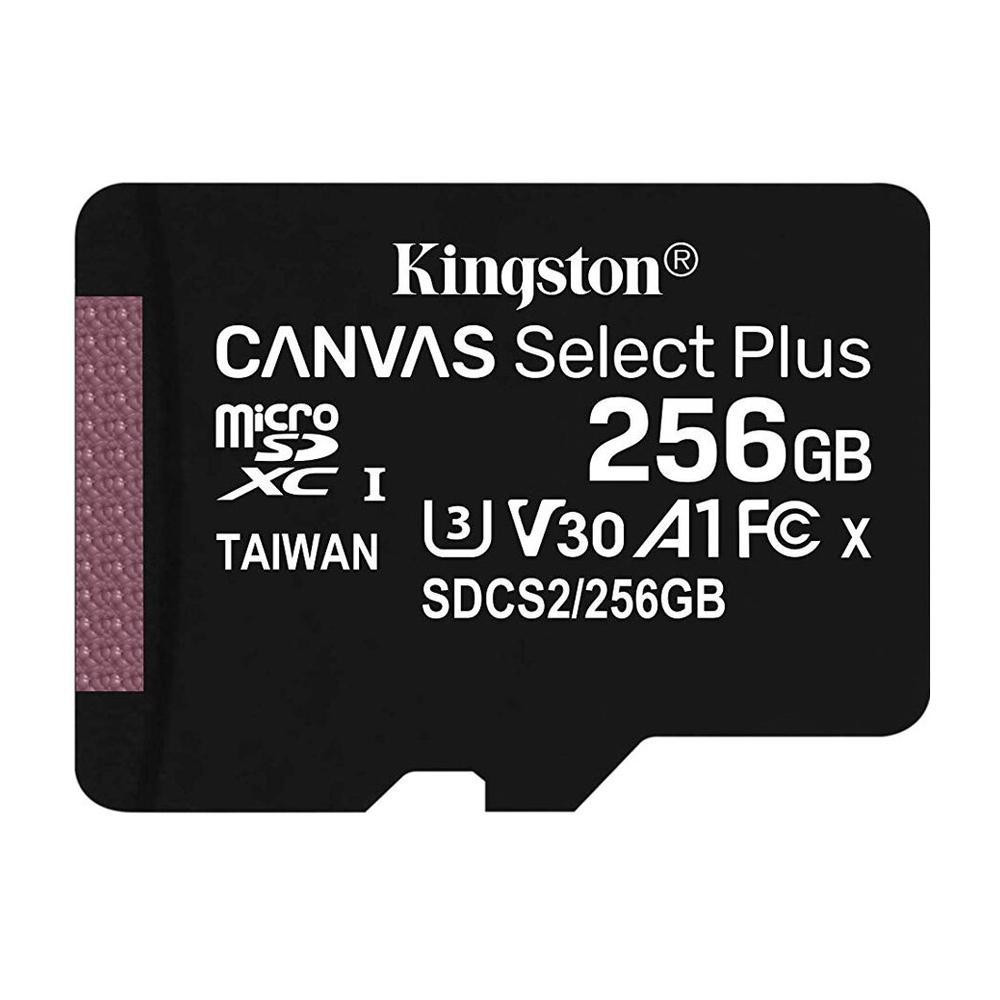Card de memorie Kingston Canvas Select Plus Micro SDXC 256GB imagine spy-shop.ro 2021