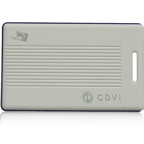 Cartela activa cu raza lunga CDVI DTXT5434M, senzor de miscare, 433.92 MHz, FSK imagine spy-shop.ro 2021