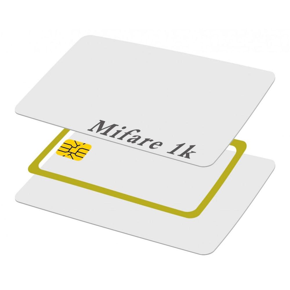 Cartela de proximitate CARD MIFARE 1K CARD, 13.56 MHz, alb imagine spy-shop.ro 2021