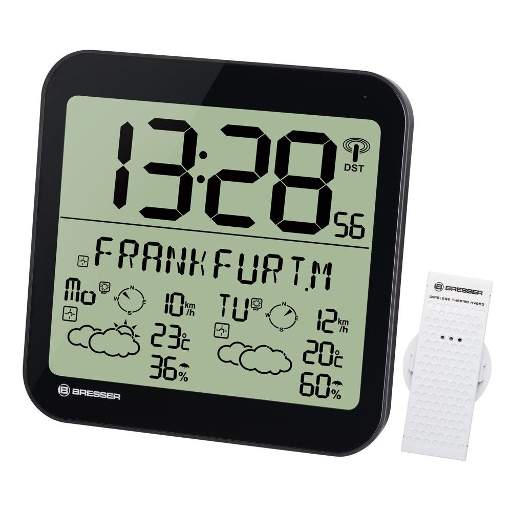 Statie meteo Bresser MyTime 7001900CM3000, termometru, higrometru, alarma